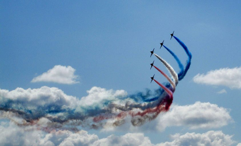 Airshow in Le Bourget