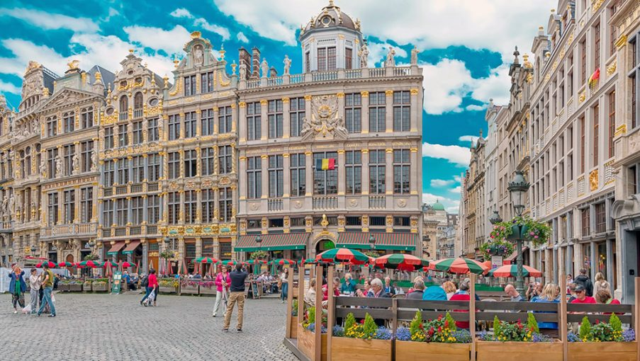 Brussels' Grand Place, or Grote Markt