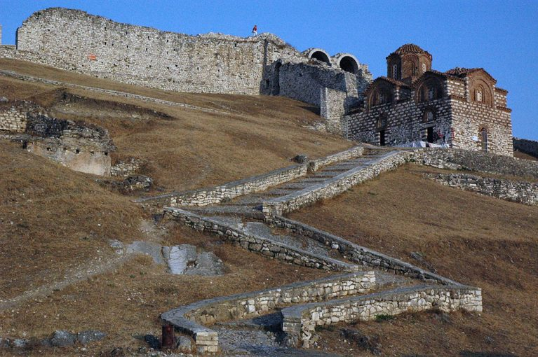 Reserve a private shuttle, round trip to Berat Castle, Albania